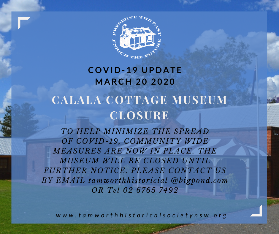 Museum closure COVID-19 March 20 2020